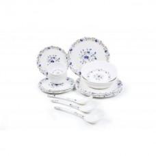 Deals, Discounts & Offers on Home & Kitchen - CZAR 24 PIC NEW DINNER SET-BLUE PRINT