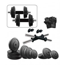Deals, Discounts & Offers on Sports - Fitzon 20 Kg DM Combo 3-WB Home Gym