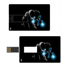 Deals, Discounts & Offers on Computers & Peripherals - Print Shapes 8 GB Pen Drives Black and Blue