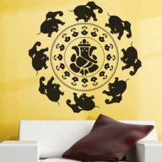 Deals, Discounts & Offers on Home Decor & Festive Needs - Ganesha With Dancing Elephants