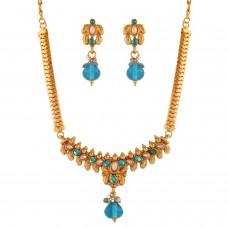Deals, Discounts & Offers on Women - Variation Blue Necklace Set