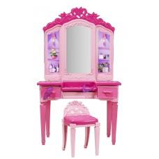 Deals, Discounts & Offers on Furniture - Toycentre Barbie Princess Power Superhero Vanity Playset