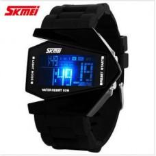 Deals, Discounts & Offers on Men - SKMEI Full black Digital Watch Rectangular Dial
