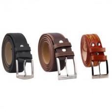 Deals, Discounts & Offers on Men - Fashno Brown Black Formal Belt