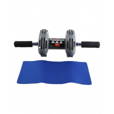 Deals, Discounts & Offers on Sports - Blixi Black Ab Wheel with Mat