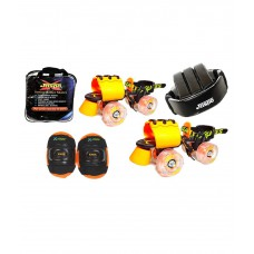 Deals, Discounts & Offers on Baby & Kids - Jaspo Marshal Adjustable Roller Skates Combo