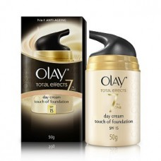 Deals, Discounts & Offers on Health & Personal Care - Olay Total Effects 7 in 1 Anti Aging Skin Cream (Moisturizer) with a Touch Of Foundation SPF15 50g