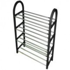 Deals, Discounts & Offers on Home Decor & Festive Needs - 4 Layered Shoe Rack - Stainless Steel