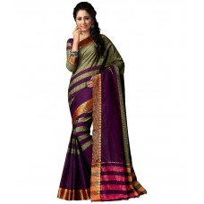 Deals, Discounts & Offers on Women Clothing - M.S.Retail Multicoloured Cotton Saree