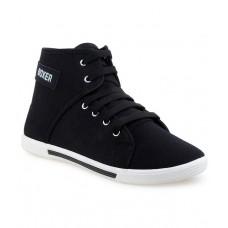 Deals, Discounts & Offers on Foot Wear - Super Matteress Black Sneaker Shoes