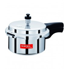 Deals, Discounts & Offers on Home & Kitchen - Surya Accent 3 Ltr Aluminium Pressure Cooker