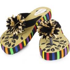 Deals, Discounts & Offers on Foot Wear - Do Bhai Women Black Flats