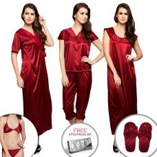 Deals, Discounts & Offers on Women Clothing - 10 PC NIGHTWEAR SET OFFER