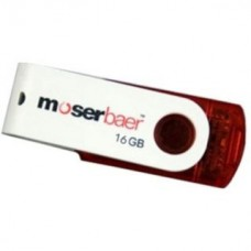 Deals, Discounts & Offers on Computers & Peripherals - Moserbaer Swivel 16 GB Pen Drive offer