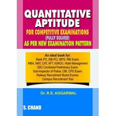 Deals, Discounts & Offers on Books & Media - Quantitative Aptitude For Competitive Examinations Paperback (English) 7th Edition 2015