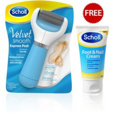 Deals, Discounts & Offers on Accessories - Scholl Velvet Smooth Express Pedi Electronic Foot File