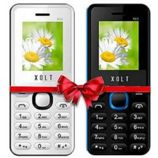 Deals, Discounts & Offers on Mobiles - Xolt Multimedia Phone Buy 1 Get 1 Free at Rs 719 only