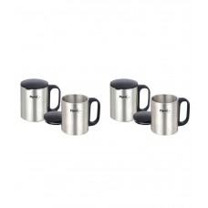 Deals, Discounts & Offers on Home Appliances - Pigeon Coffee Cup Set of 4