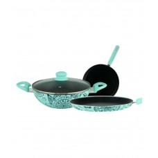 Deals, Discounts & Offers on Home Appliances - Wonderchef Oscar  Doppio Cookware Set