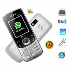 Deals, Discounts & Offers on Mobiles - Chilli Dual Sim GSM with Facebook  Camera Mobile Phone