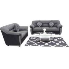Deals, Discounts & Offers on Furniture - Furnicity Fabric Grey Sofa Set