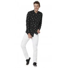 Deals, Discounts & Offers on Men Clothing - Stellar Swing Black Shirt