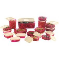 Deals, Discounts & Offers on Furniture - MasterCook & Joyo 17Pc Kitchen Container Set At Rs 299