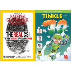 Deals, Discounts & Offers on Books & Media - Tinkle Magazine & National Geographic subscription Combo