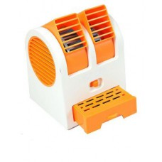 Deals, Discounts & Offers on Home Appliances - Mini Fragrance Air Conditioner Cooling Fan Orange