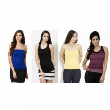 Deals, Discounts & Offers on Women Clothing - Upto 75% off on Combo of 4 Tops