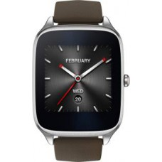 Deals, Discounts & Offers on Men - Asus ZenWatch  Case with Rubber Strap Sliver/rubber taupe Smartwatch