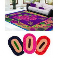 Deals, Discounts & Offers on Home Appliances - HandloomTrendz Polyester Quilted Carpet