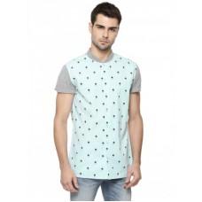 Deals, Discounts & Offers on Men Clothing - Baseball Collar Shirt
