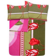 Deals, Discounts & Offers on Furniture - Flat 54% off on IWS Cotton Printed Double Bedsheet