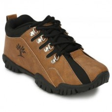 Deals, Discounts & Offers on Foot Wear - Afrojack  Brown and Black Outdoor Shoes