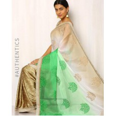 Deals, Discounts & Offers on Women Clothing - Upto 15% off on Embroidered Chiffon Saree
