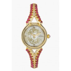 Deals, Discounts & Offers on Women - Gold case Watch With Diamonds