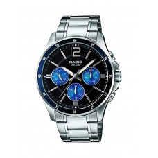 Deals, Discounts & Offers on Men - Casio Enticer Analog Black Dial  Watch