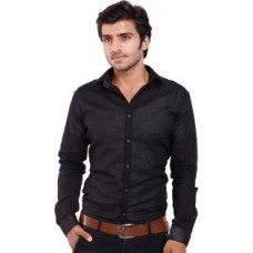 Deals, Discounts & Offers on Men Clothing - Upto 80% off on Deeksha  Solid Casual Black Shirt