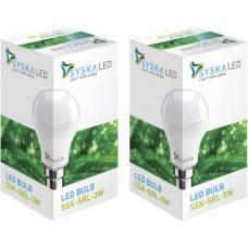 Deals, Discounts & Offers on Electronics - Flat 52% off on Syska Led Lights B22 LED