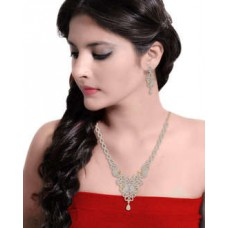 Deals, Discounts & Offers on Women - Peacock Themed Astonishing Necklace Set