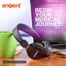 Deals, Discounts & Offers on Mobile Accessories - Envent Premium Foldable Wired Headphone