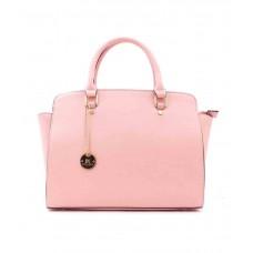 Deals, Discounts & Offers on Women - Diana Korr Pink PU Shoulder Bag