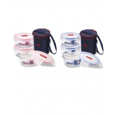 Deals, Discounts & Offers on Home Appliances - Wellberg 3 Pcs Lunch Box Set with Insulated Bag