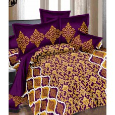 Deals, Discounts & Offers on Furniture - Welspun Printed Double Bedsheet Gift Set