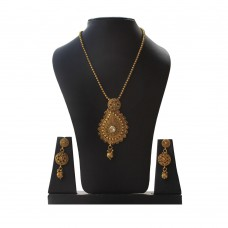 Deals, Discounts & Offers on Women - MoKanc Copper Mango Design Chain Pendant Set with Earrings