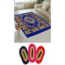 Deals, Discounts & Offers on Home Decor & Festive Needs - Flat 71% off on HandloomTrendz Polyester Quilted Carpet