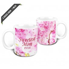 Deals, Discounts & Offers on Home & Kitchen - Hot Muggs Sweetest Mom Ever Ceramic Mug