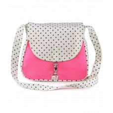 Deals, Discounts & Offers on Women - Flat 47% off on Vogue Tree Pink Sling Bag