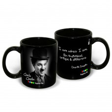 Deals, Discounts & Offers on Home Appliances - Hot Muggs Charlie Chaplin Quote on Uniqueness Ceramic Inspirational Mug